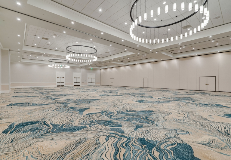 Azalea Ballroom at the newly renovated Baytowne Conference Center