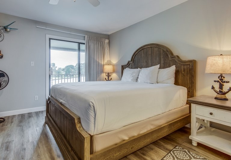Bedroom at Bayside Villas