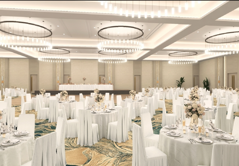 The Juniper Ballroom at Hotel Effie