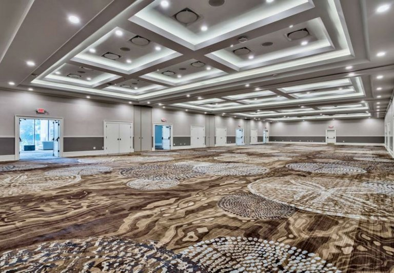 The ballroom at Linkside Conference Center