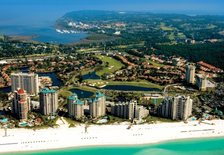 Sandestin from above