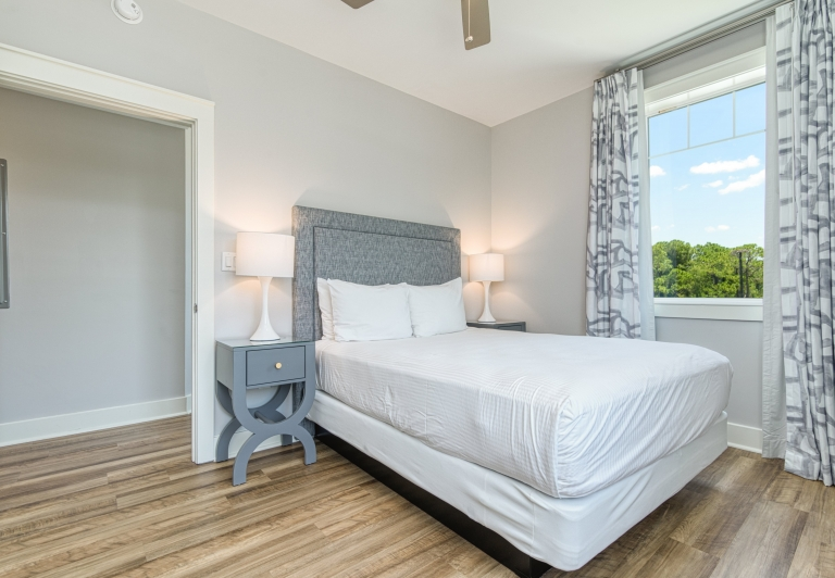 second bedroom in a three bedroom unit at Osprey Pointe