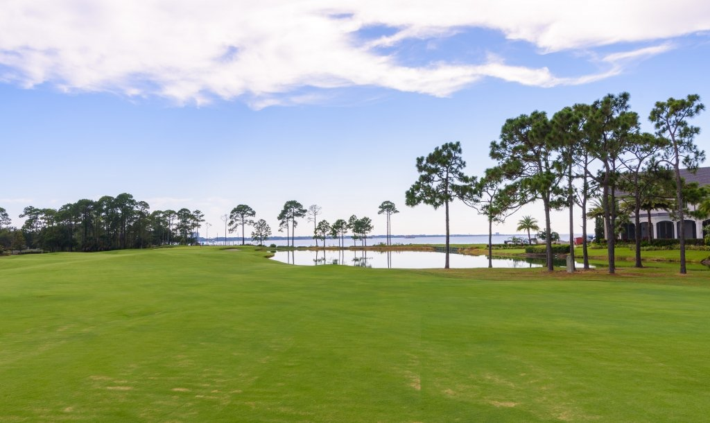 lush green golf course at Sandestin Golf and Beach Resort