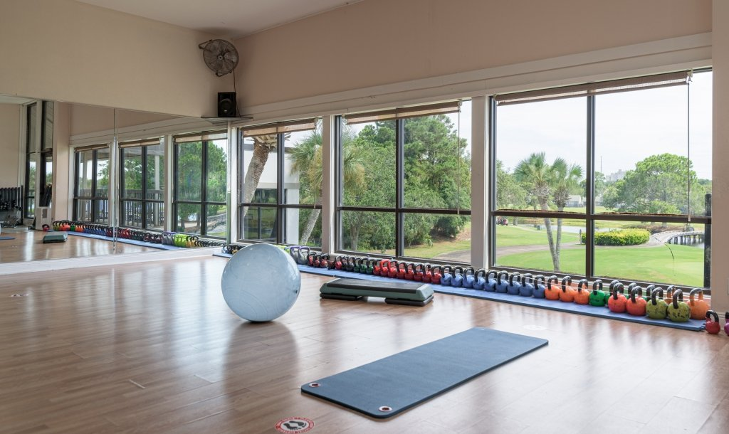 the fitness center at Sandestin Golf and Beach Resort
