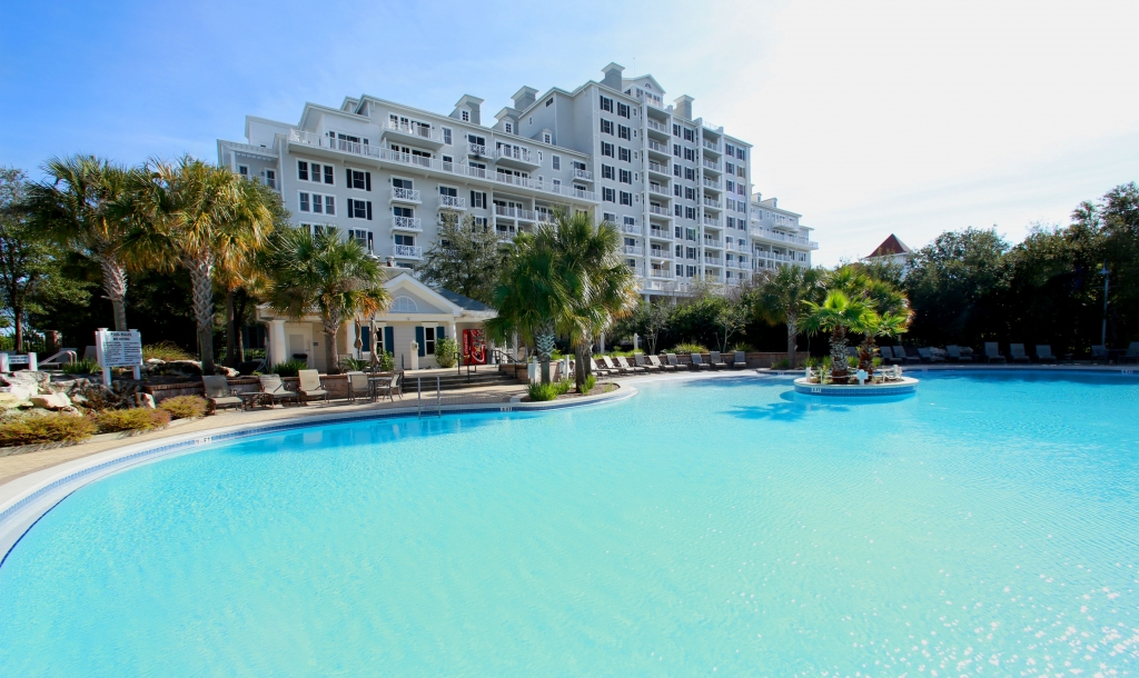 The pool at the Grand Hotel at Sandestin Golf and Beach Resort