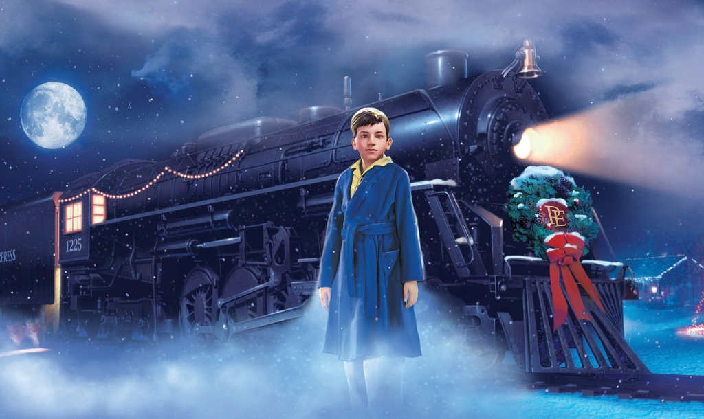 Train from the Polar Express Movie