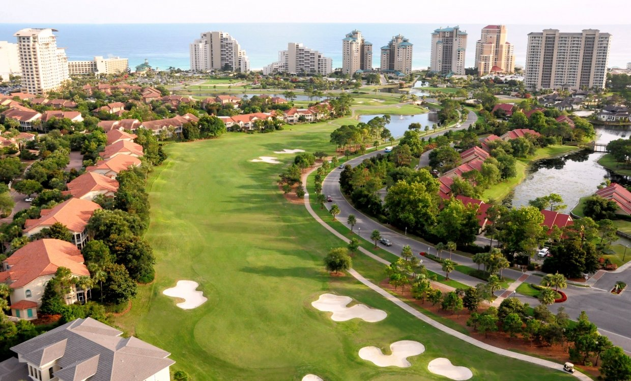 Golf course at Sandestin Golf and Beach Resort